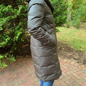 Cole Haan down coat for woman.
